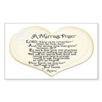 Marriage Prayer Rectangle Sticker