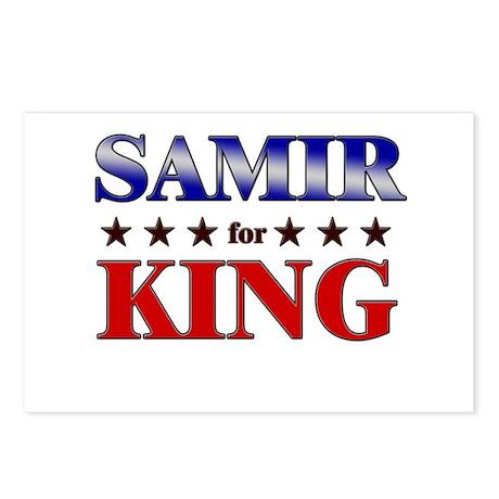 SAMIR for king Postcards (Package of 8)