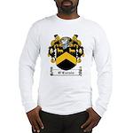 O'Curnin Family Crest Long Sleeve T-Shirt
