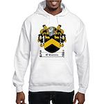 O'Curnin Family Crest Hooded Sweatshirt