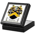 O'Curnin Family Crest Keepsake Box
