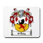 O'Daly Family Crest Mousepad