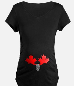 Canadian Maple Leaf & Moose T-Shirt