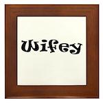 Wifey Framed Tile