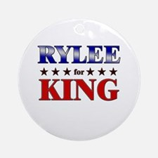 RYLEE for king Ornament (Round)