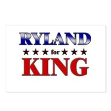 RYLAND for king Postcards (Package of 8)