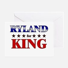RYLAND for king Greeting Card