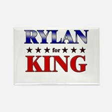 RYLAN for king Rectangle Magnet