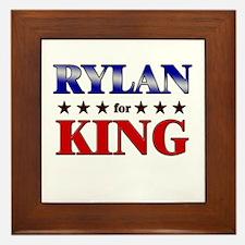 RYLAN for king Framed Tile