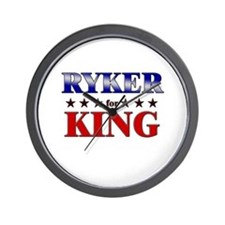 RYKER for king Wall Clock
