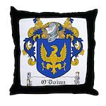 O'Doinn Family Crest Throw Pillow