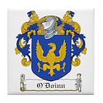 O'Doinn Family Crest Tile Coaster