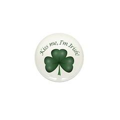 Kiss me, I'm Irish! Mini Button (100 pack)