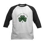 Kiss me, I'm Irish! Kids Baseball Jersey