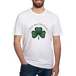 Kiss me, I'm Irish! Fitted T-Shirt