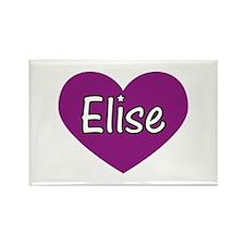 Elise Rectangle Magnet (100 pack)