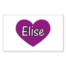 Elise Rectangle Decal