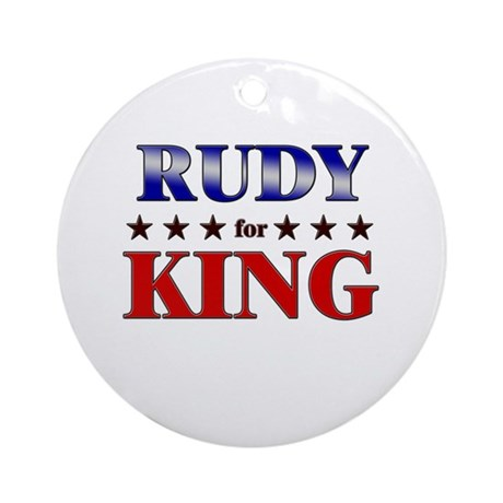 RUDY for king Ornament (Round)