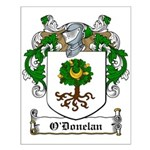 O'Donelan Family Crest Small Poster