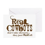 Real Cowboys Greeting Cards (Pk of 10)