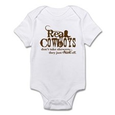 Real Cowboys Infant Bodysuit