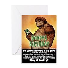 Daddys Birthday Greeting Card