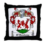 O'Donlevy Family Crest Throw Pillow