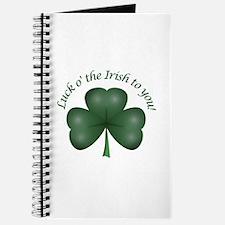 Luck of the Irish Journal