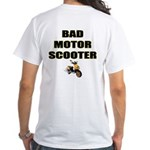 Bad Motor Scooter White T-Shirt