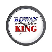 ROWAN for king Wall Clock