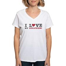 I Love (heart) My Girlfriend Shirt
