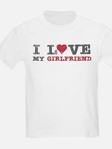 I Love (heart) My Girlfriend T-Shirt