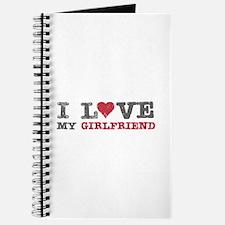 I Love (heart) My Girlfriend Journal