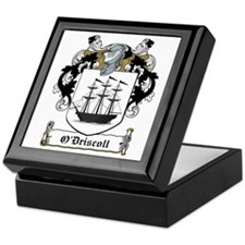 O'Driscoll Family Crest Keepsake Box