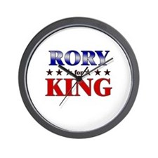 RORY for king Wall Clock