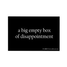 disappointment Rectangle Magnet