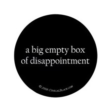 """disappointment 3.5"""" Button"""