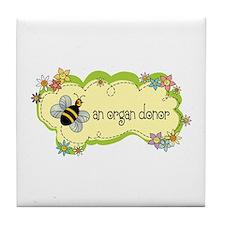 Donor Bug Tile Coaster
