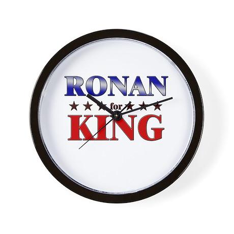 RONAN for king Wall Clock