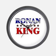 RONAN for king Wall Clock