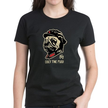 Chairman PUG - Women's Dark T-Shirt