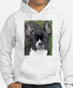 Cute French bulldog painting Hoodie