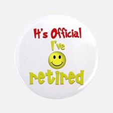 """Officially Retired.:-) 3.5"""" Button"""