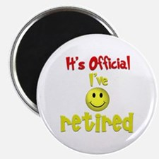 """Officially Retired.:-) 2.25"""" Magnet (10 pack)"""