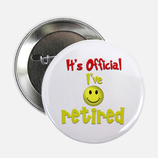 """Officially Retired.:-) 2.25"""" Button (10 pack)"""