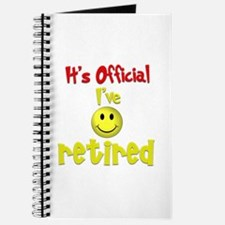 Officially Retired.:-) Journal