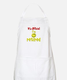 Officially Retired.:-) BBQ Apron