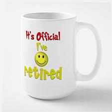 Officially Retired.:-) Mug