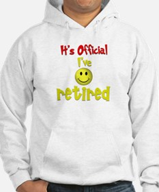 Officially Retired.:-) Hoodie