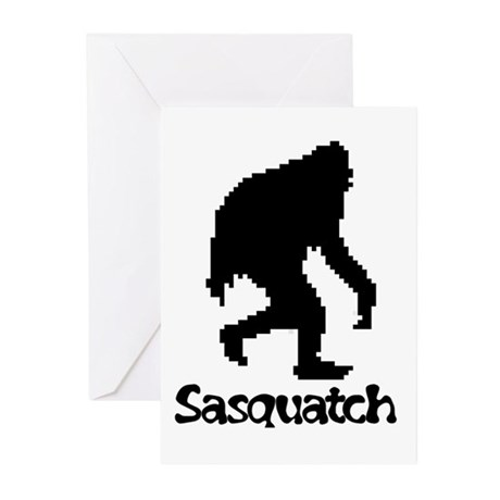 Sasquatch Greeting Cards (Pk of 20)